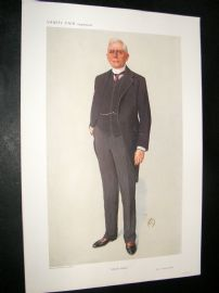 Vanity Fair Print 1910 Mr. Richard Vassar Vassar-Smith